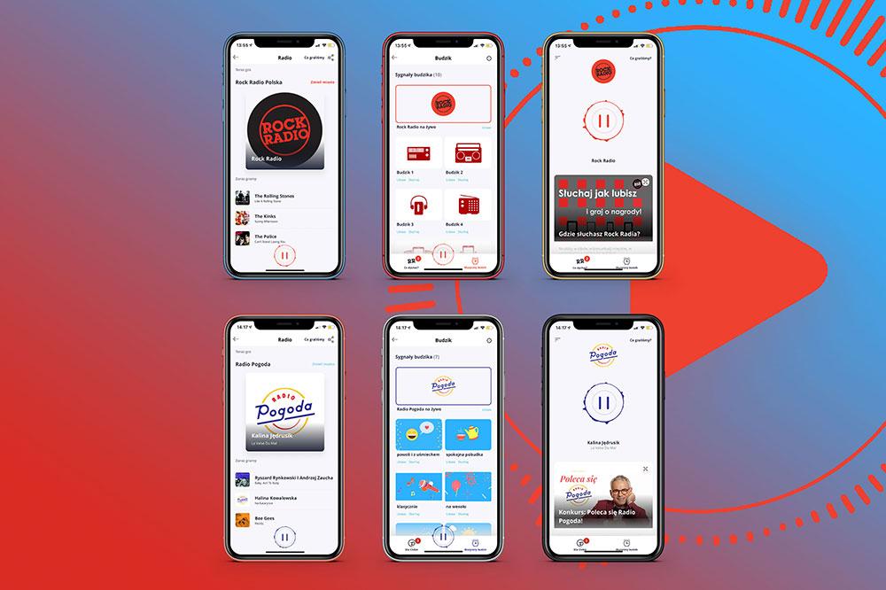 rock radio mobile app development