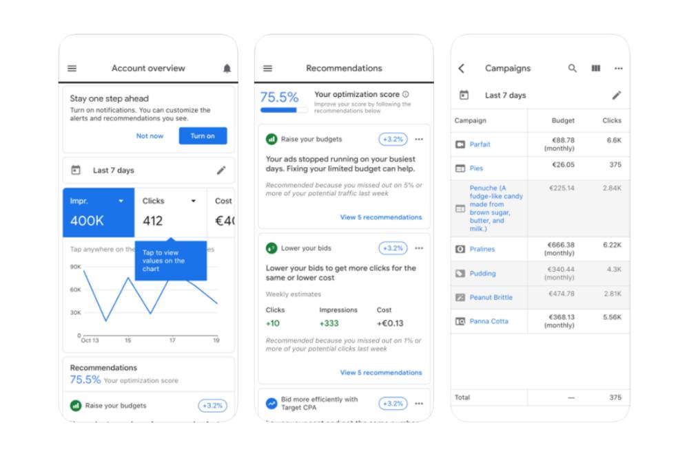 flutter app examples - google ads